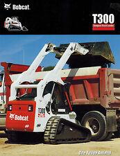 BOBCAT T300 TRACK SKID STEER LOADER  BROCHURE X