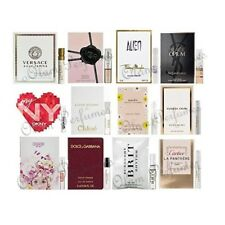 Set 12pcs High End Designer Fragrance Vial Sampler Women, Versace,YSL, Cartier