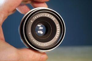 Carl Zeiss Tessar f2.8 50mm, M42 gut adaptierbar