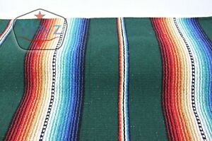 Tjayz Mexican Blankets Serape Handcrafted