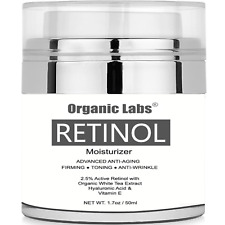 Night Cream Face Neck Eye Best Retinol Moisturizer Organic Anti Wrinkle Lotion