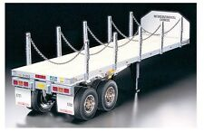 Tamiya 56306 1/14 Scale RC Flatbed Semi-Trailer Kit For Tractor Truck
