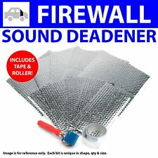 Heat & Sound Deadener for Ford 1955-56 Firewall Kit +Seam Tape, Roller 9315Cm2