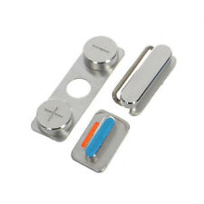 Replacement Power Volume Mute Buttons Switch Button Kit Set for iPhone 4 4s
