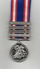 NATO SERVICE MEDAL WITH FOUR  CLASPS   INC: AIRBORNE FORCES AND USA - HALF PRICE
