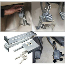8 Hole Fine Steel Car Brake Clutch Pedal Anti-Theft Strong Security Lock Tool