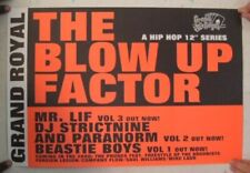 Beastie Boys Poster Mr. Lif The Blow Up Factor The Paranorm