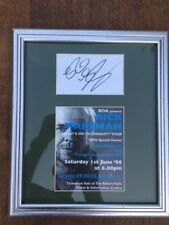 RICK WAKEMAN - Hand signed autograph - on a mounted card