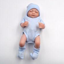 Realistic Baby Dolls Girl Full Body Vinyl Reborn Silicone Newborn 11'' MINI Doll
