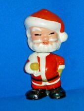 Vintage Bisque Nodder Bobble-Head Santa Claus