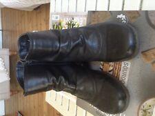 Pavers ladies black ankle boots size 6