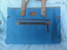 Coach Light Blue Diaper Bag B05K-5975