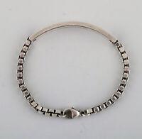 Tiffany & Company (New York) modern bracelet in sterling silver. Ca. 1960.