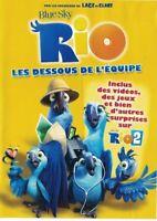 DVD Rio les dessous de l'équipe Occasion