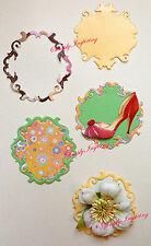 NEW ✿ Pretty Ornate Swirl Frame & Label Die ✿ ✿ For Cuttlebug & Sizzix ✿ ✿