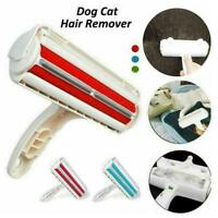 Pet Hair Remover Sofa Clothes Lint Cleaning Brush Reusable Roller Fur Cat Y1S1