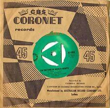 "TONY BENNETT - THE KING OF BROKEN HEARTS - 7"" Vinyl Single AUSTRALIAN Excellent+"