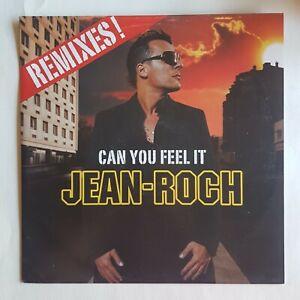 "JEAN-ROCH : CAN YOU FEEL IT (rare PROMO 12"" CLUB MIXES) ♦ MAXI 45 ♦"