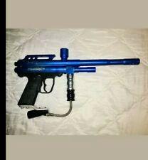 Vintage Blue Piranha Paintball GUN