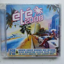 compil Eté 2008 USHER CHRIS BROWN KAT DELUNA ALICIA KEYS ZAHI .. CD ALBUM