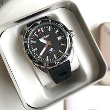Fossil Watch * FS5053 Breaker Diver Black Silicone Men COD PayPal Ivanandsophia