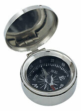 Kleiner Kompass mit Deckel    - perfekt für die maritime Dekoration