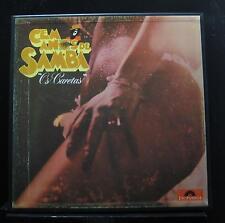 Os Caretas - Cem Anos De Samba 3 LP Mint- 2488 234/5/6 Brazil Vinyl Record