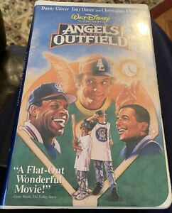 Disney's Angels In the Outfield Clamshell (VHS, 1995) Danny Glover, Tony Danza,