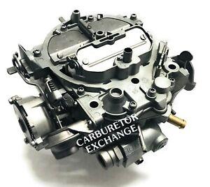 1980~1984 Chevrolet Pickup Remanufactured Rochester Quadrajet Carburetor 454 Eng