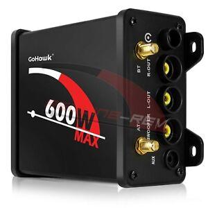 600W AMP Bluetooth Motorcycle ATV UTV Polaris Audio MP3 Radio Amplifier System
