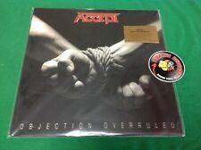 ACCEPT Objection Overruled Rock LP NEW 180 Gram Vinyl 2020 Piranha Records