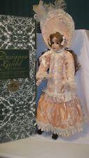 "Designer Guild Patricia Loveless CHERISH 32"" Porcelain Doll used w/box"