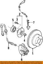 FORD OEM Front Brake-Disc Rotor YS2Z1V125AA