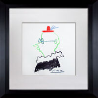 "Pablo PICASSO Lithograph  ""El Amigo"" Limited Edition SIGNED Cat. ref. c116"