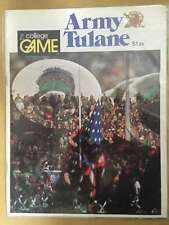 TULANE (LA) @ ARMY COLLEGE FOOTBALL PROGRAM - 1974 - EX