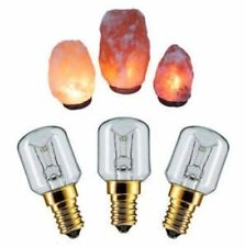 3 x 15w E14 Screw in Himalayan Salt Lamp Bulb Pygmy Bulbs Fridge Appliance Oven