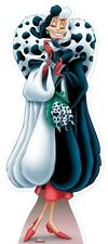 SC-414 Cruella De Ville Disney Height 171cm Cardboard Cut-out figure