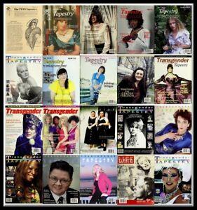 Transgender Tapestry Magazine - PDF Format - 106 Magazines – Download - TV - TS