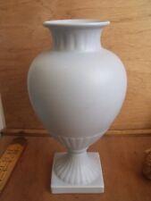 """Flora Keramiek Gouda Holland Urn Vase Duck Egg Blue 10 3/4"""" Tall"""