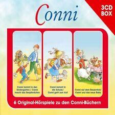 3 CDs * CONNI - HÖRSPIEL BOX - VOLUME 1  # NEU OVP !