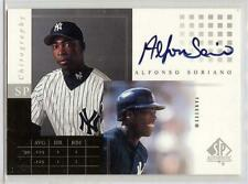 2000 SP AUTHENTIC CHIROGRAPHY ALFONSO SORIANO AUTO!!
