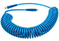 Druckluftschlauch 9 Meter 1/4 Spiralschlauch Druckluft Werkzeug Kfz Luftschlauch