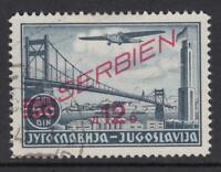 GERMANY - REICH 1941-1945 occ SERBIEN Mi 30 cat 1350$ very fine used