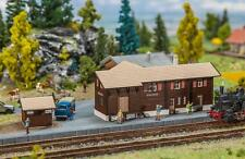 FALLER 212120 N Bahnhof Stugl-Stuls mit Toilettenhaus                     #71183