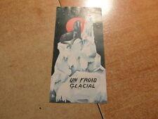 Brochure Prospect vintage ELECTRO-LUX ELECTROLUX Refrigerateur UN FROID GLACIAL