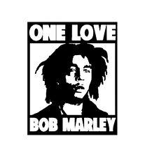 Bob Marley One Love Ventana Calcomanía Reggae Ska