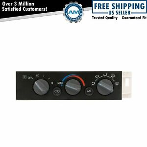 Dorman 599-007 Heater A/C Control Panel Switch Unit for GM Pickup Truck SUV