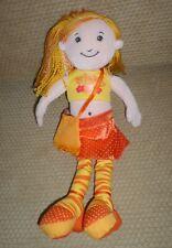 "Manhattan Toy FRIENDLY FIONA Doll Plush 13"" 2006 Girl Scout"