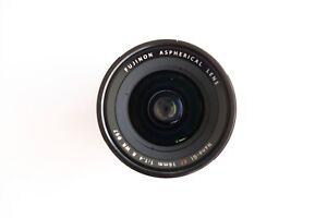 FUJINON XF16mm F1.4 R WR Wide Angle Lens. Perfect as new cond. Fujifilm, Fuji.