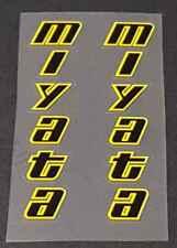 sku miya101 Miyata Down Tube Decals 1 Pair Metallic Gold